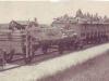 Чехословацкий бронепоезд на станции Марьяновка,рядом с Омском