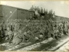 Бойцы 5-го полка Чехословацкого корпуса на захваченном ими вокзале в Пензе. Май, 1918 г.