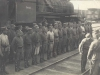 Чехословацкие легионеры на железнодорожном вокзале Томска