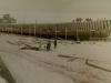 Ремонт деревянного паузка.1952 г.